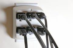 没有可利用的电源输出口 免版税库存图片