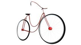 没有品牌现代自行车deisng 免版税库存照片