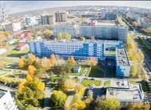 没有地方临床的医院 2,秋明州,俄罗斯 图库摄影