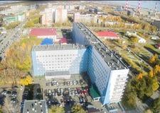 没有地方临床的医院 2,秋明州,俄罗斯 库存图片