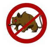 没有大鼠 库存图片