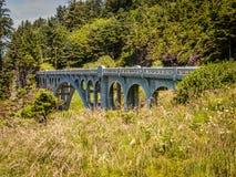 没有岩石小河的桥梁 01089 免版税图库摄影