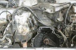 没有引擎的一辆汽车 图库摄影