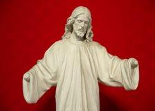 没有手的耶稣 库存照片