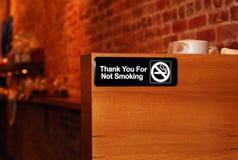 没有抽烟的符号 免版税图库摄影