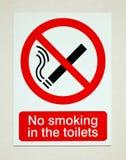 没有抽烟的符号 图库摄影