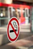 没有抽烟 免版税图库摄影