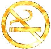 没有抽烟 库存例证