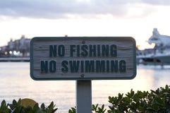 没有捕鱼符号 图库摄影