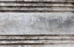 脏的老灰色具体纹理内部 免版税图库摄影