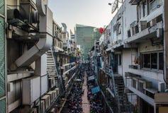 没有曼谷的大厦 5 库存图片