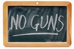 没有枪 免版税图库摄影
