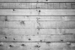 没有漆的木委员会墙壁 库存照片