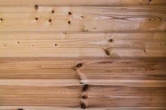 没有漆的木板的自然颜色 免版税库存照片