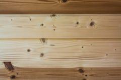 没有漆的木板的自然颜色 库存图片