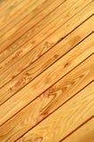 没有漆的木楼层 免版税库存图片