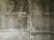 没有漆的混凝土墙作为背景 库存图片