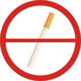 没有烟 免版税库存照片