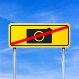 没有照相机 免版税库存照片