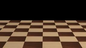 没有片断的棋枰 库存照片