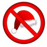没有的圣诞节您 免版税库存图片
