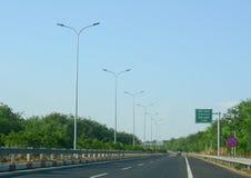 没有的高速公路 1A在越南 免版税库存图片