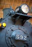 没有的CNJ 新泽西4-4-2大西洋胎面补料592中央铁路  库存图片