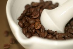 没有磨咖啡器 免版税库存照片