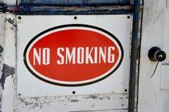 没有符号抽烟 图库摄影