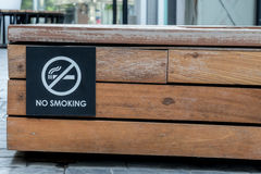 没有符号抽烟 库存照片