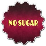 没有糖圆的徽章 库存图片