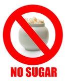没有糖 库存照片