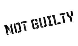 没有罪不加考虑表赞同的人 库存例证