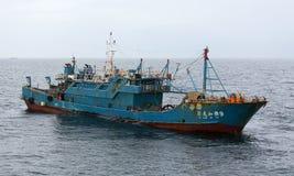 没有莒龙家YA的捕鱼船 9 免版税库存图片