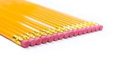没有被隔绝的2支铅笔 库存照片