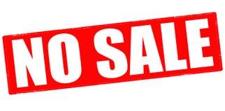 没有销售额 免版税图库摄影