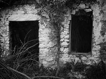没有门或窗口 库存照片