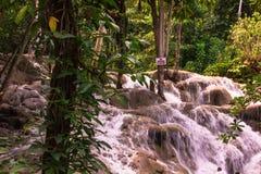 没有雕刻在牙买加的岩石 免版税图库摄影