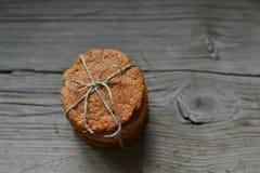 没有面粉的纤维面包 图库摄影