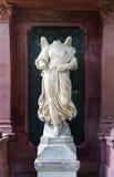 没有头的天使雕塑 免版税图库摄影