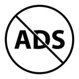 没有ADS,传染媒介例证 图库摄影
