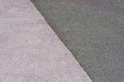 沥青和地毯网球场纹理背景 免版税图库摄影