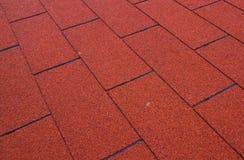 沥青屋顶 免版税库存图片