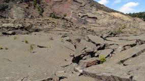 沥青熔岩 库存照片