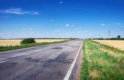 沥青详细形成路正方形人员结构 免版税库存照片