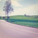 沥青详细形成路正方形人员结构 图库摄影