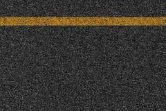 沥青高速公路与标号的路纹理 库存图片