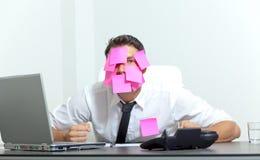 沮丧的办公室 免版税库存图片