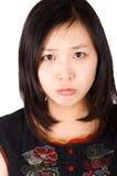 沮丧的妇女年轻人 免版税库存图片