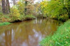 河。 免版税库存照片